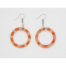 Peach Tea Sparkle Earrings