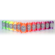 12 x 1000m Fluoro Embroidery Thread