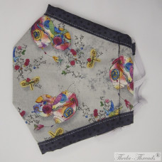 Bright Lanterns! - Trilayer Fabric Face Covering