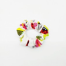 Ladybugs, Butterflies and Bees Scrunchie