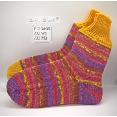 Happy Toes! Knitted Woollen Socks