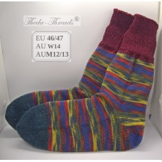 Toys! Knitted Woollen Socks with Snug Fit EU46/47 AUM12/13