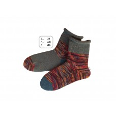 [SOLD] Autumn Fun! EU Size 39 Rolltop Knitted Wool Socks